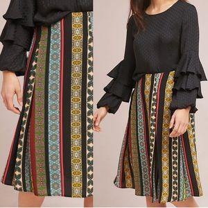 Eri + Ali | Scarf Print Skirt